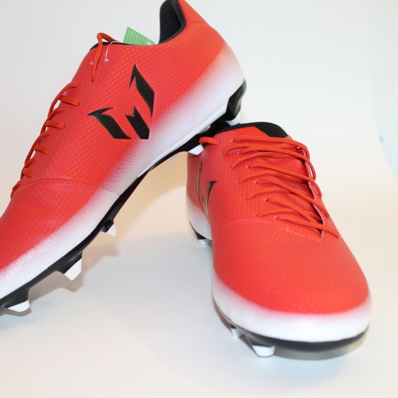 2a6370615 adidas Messi 16.3 FG AG Soccer Cleats BA9020 Red B. adidas.  M 5b8b0cf8aa8770fa37eaab7c. M 5b8b0cfb1b329469a31ad54a.  M 5b8b0cfb534ef981d8441786